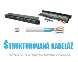 predaj optickej a strukturovanej kabelaze